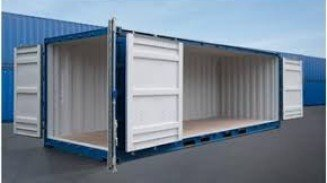 20' Open Side Shipping Containers