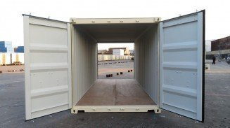 20' Shipping Containers With Doors on Both Ends