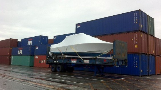 20' Flat Rack Export Shipping Containers