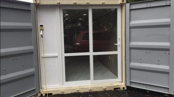 Rent 20' Mobile Office & Storage Container Combo
