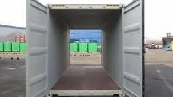 Rent 20' Storage Containers With Doors on Both Ends