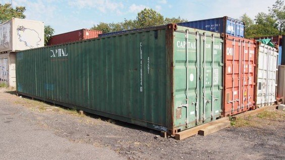 40' Export Shipping Container