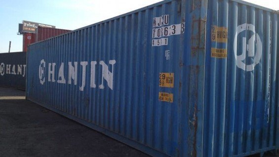 40' HC Export Shipping Containers