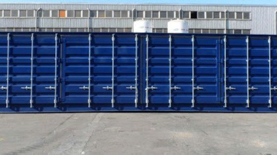 40' Open Side Shipping Containers