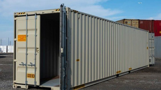 40' Shipping Containers With Doors on Both Ends