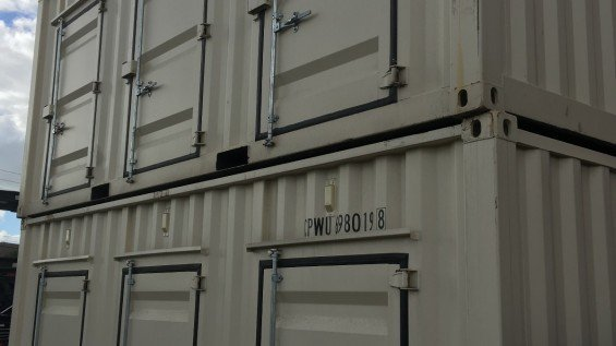 Corrugated Container Door