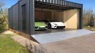 Conex Garage