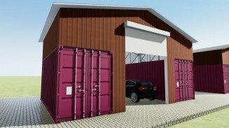 Container Garage Ideas