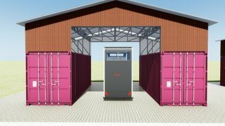 Sea Container Garage