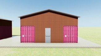 Cargo Container Garage