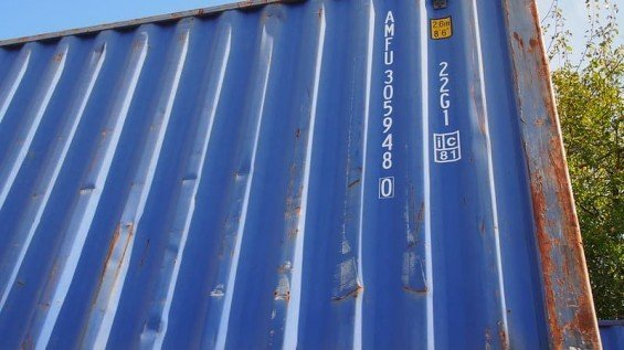 8 x 20 Shipping Container