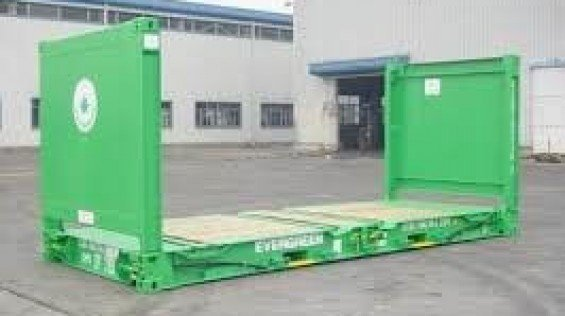 20 Foot Flat Rack Container