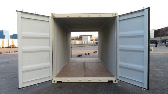 Shipping Container With Doors On Both Ends