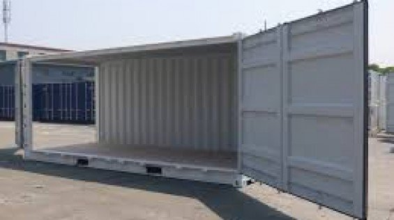 20 Foot Open Side Container
