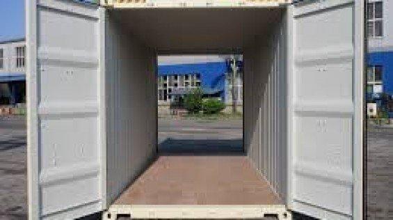 Double Door Container
