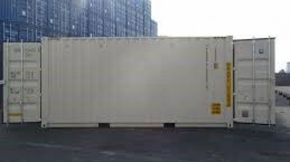 Double Door Shipping Container