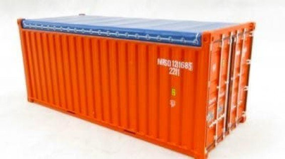 Open Top 20 ft Container