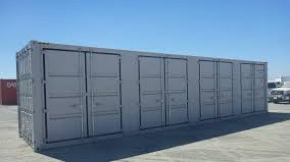 40 Foot Shipping Container With Side Doors