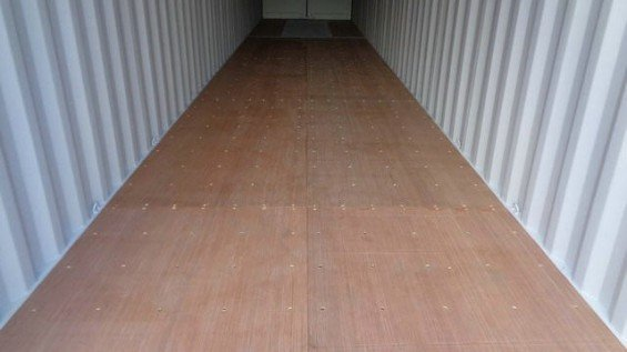 40' Double Door Shipping Container