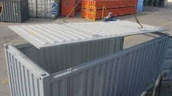 40' Open Top Shipping Container For Export