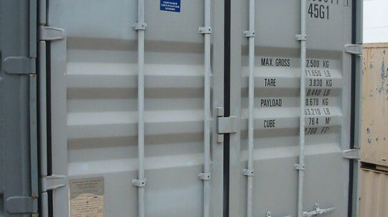 40ft Container Rental Price