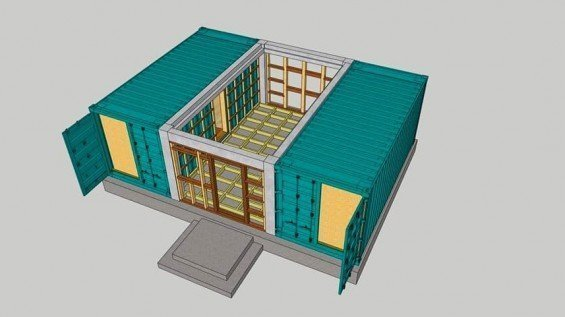 Container House Floor Plans