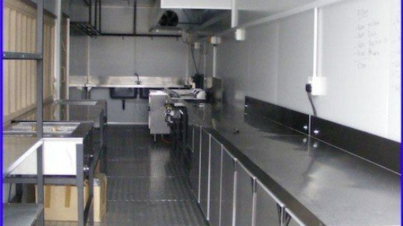 Mobile Container Kitchens
