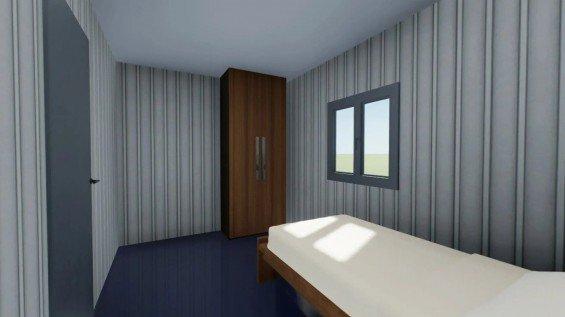 Prefab Dormitory