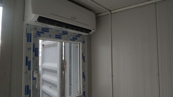 Shipping Container HVAC