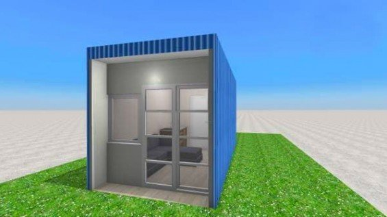 Backyard Container Homes