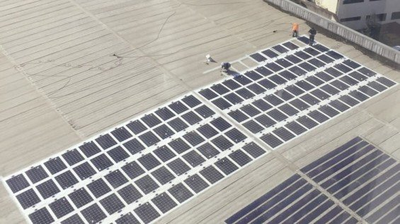 Solar Panels On Shipping Container